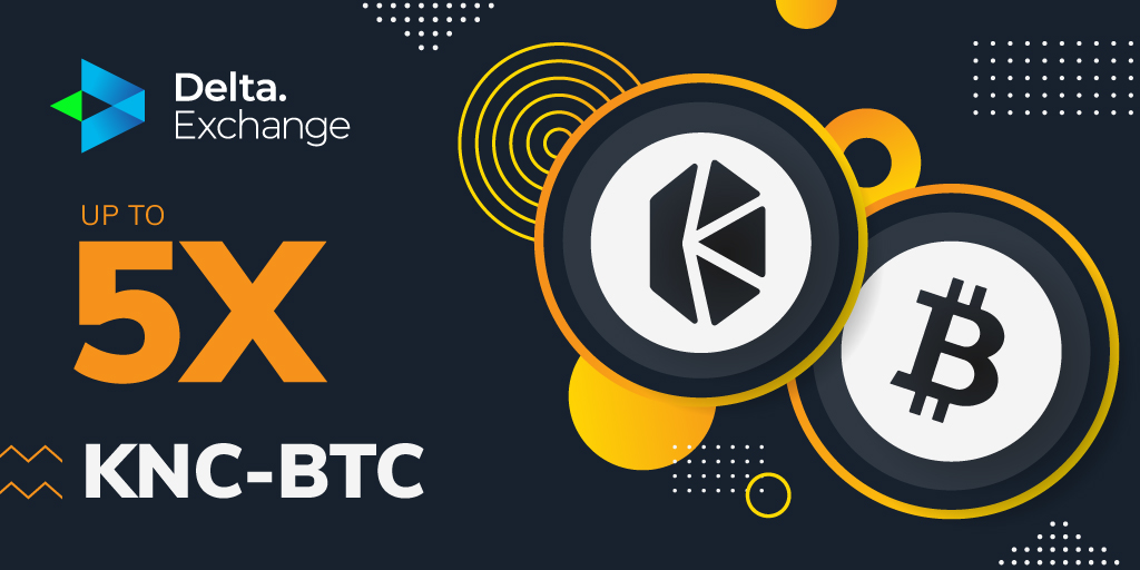 Delta Exchange - Kyber Network - KNC